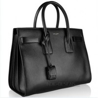Indie Designs Saint Laurent Inspired Sac Jour Leather Bag