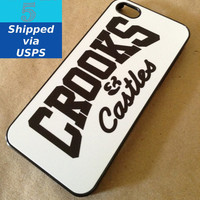 Crooks & Castles iPhone 5 Case, Diamond, Dope, Drake, Ymcb, Ofwgkta, Obey, Illest, iPhone 5 Case
