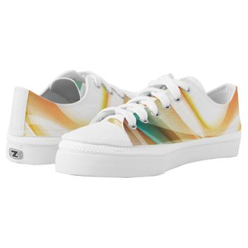 Abstract Swirl 2 Printed Shoes