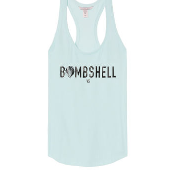 Graphic Racerback Tank - Victoria's Secret