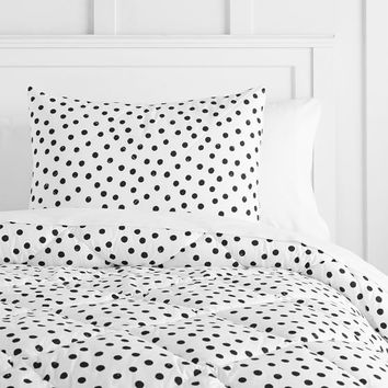 The Emily & Meritt Painted Dot Comforter + Sham