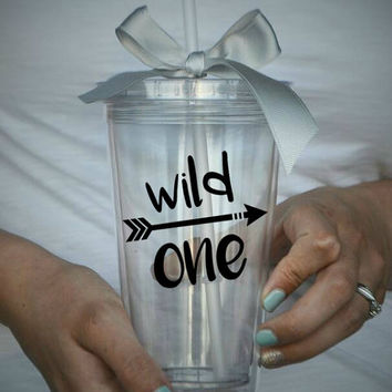 Wild One Clear Tumbler