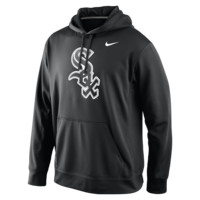 Nike Logo Performance Pullover 1.4 (MLB White Sox) Men's Hoodie Size Large (Black)