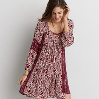 AEO PATTERN SHIFT DRESS