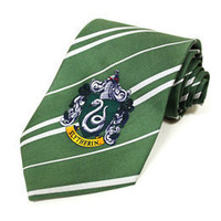 Harry Potter Slytherin Tie: WBshop.com - The Official Online Store of Warner Bros. Studios