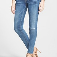 Junior Women's Vigoss Destroyed Skinny Jeans (Light)