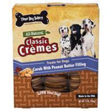 Three Dog Bakery - Classic Cremes Carob Cookies