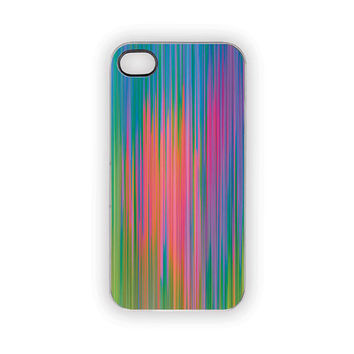 Rainbow Showers iPhone Case iPhone 5 4S 4 Case by Inspireuart