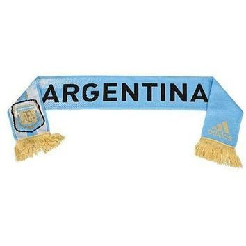 Argentina National Soccer Team Scarf by Adidas NWT AFA new with tags Football