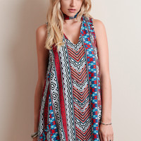 Aztec Island Swing Dress By MINKPINK