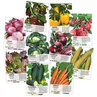Heirloom Vegetable Seed Collection