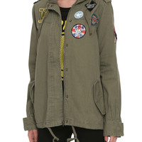 Olive Patch Girls Jacket