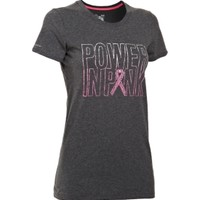 Under Armour Women's Charged Cotton Power In Pink Graphic T-Shirt - Dick's Sporting Goods