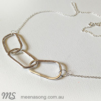 LINK NECKLACE by Meena Song Jewellery