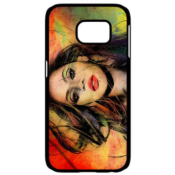 Beyonce painting Samsung Galaxy S6 Edge Case