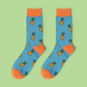 Pineapple Party Sock