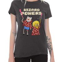 Adventure Time Wizard Powers Girls T-Shirt 2XL