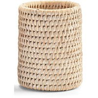 DWBA Malacca Toothbrush Toothpaste Holder Bathroom Brushes Tumbler - Rattan