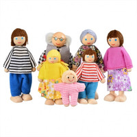 Baby Kids Girls Doll Toys Happy Dolls Family Of Seven