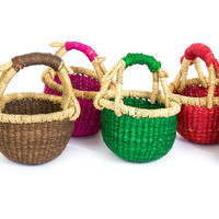 Tiny Bolga Baskets