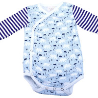Polar Bear Baby Boys Bodysuit