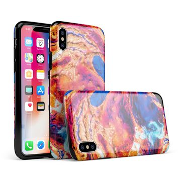 Liquid Abstract Paint V72 - iPhone X Swappable Hybrid Case