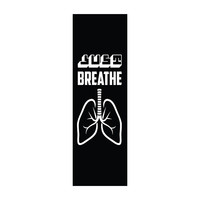 Just Breathe - Office Quote Wall Decals