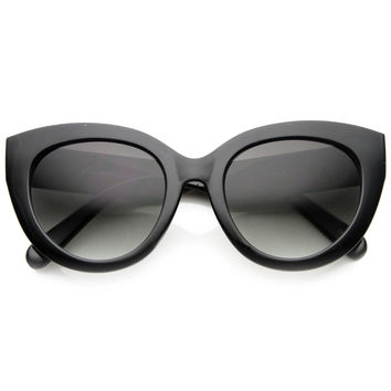 Women's 1950's Retro Oversize Cat Eye Fashion Sunglasses 9742