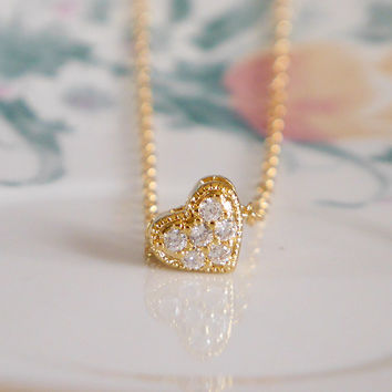 Just Love Gold Filled Necklace