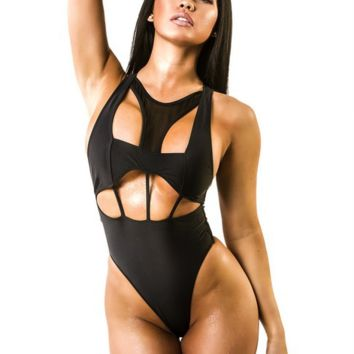 Sexy new sexy bikini sexy black piece swimsuit