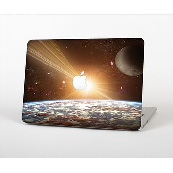 The Earth, Moon and Sun Space Scene Skin Set for the Apple MacBook Pro 15""
