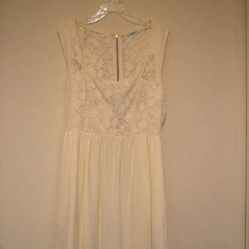 Lace Dress (Urban Outfitters)