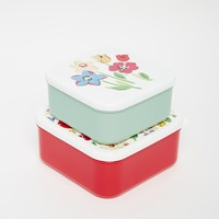 Cath Kidston Set Of Two Sandwich Boxes