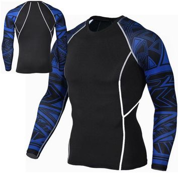 Men Long Sleeve Vest Shirt Tank Wicking Gym Sports Running Athletic Clothes S-4XL