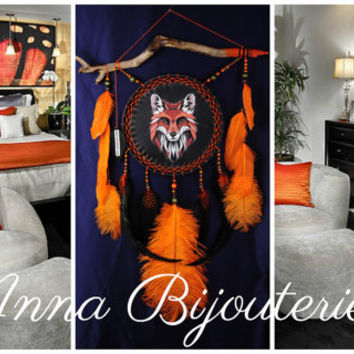 Dreamcatcher Totem FOX Dream Catcher original Dreamcatcher New Dream сatcher dreamcatchers boho dreamcatchers wall decor handmade original