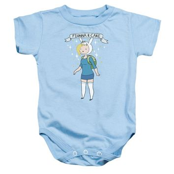 Adventure Time - Fionna & Cake Infant Snapsuit Officially Licensed Baby Clothing