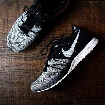 nike flyknit trainer women men casual running sport shoes sneakers