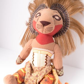 The Lion King Stuffed Simba Doll