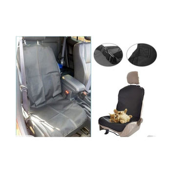 Car Waterproof Pet Dog Seat Cover Protector  Black
