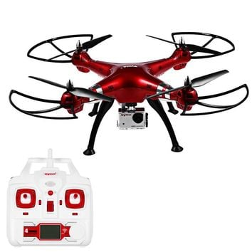 Syma X8HG RC Drone Dron FPV 8MP Camera 2.4GHz 4CH 6 Axis Gyro Quadcopter Flying Helicopter with Light Quad Copter Toys 2016 New