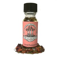 Good Fortune Oil for Abundance, Blessings, Healing & Wishes Wiccan Pagan Hoodoo Conjure