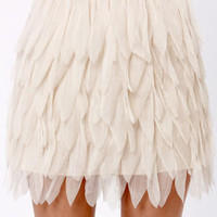 Swan Hit Wonder Cream Skirt