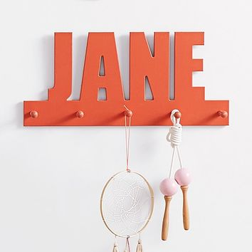 Personalized Name with Pegs