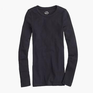 Women's 1X1 Rib Slim Fit Long-Sleeve T-Shirt - Women's Knits | J.Crew