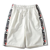 Fila Women Men Fashion Casual Shorts
