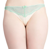 ModCloth Pastel Airy Which Way Thong