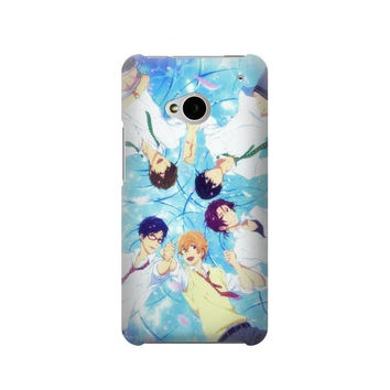 P2127 Free Iwatobi Swim Club Case For HTC ONE M7