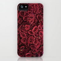 Flower Market 3 - Red Roses iPhone 4, 4s, 5, 5s, 5c & Samsung Galaxy s3, s4 and iPod Case by CMcDonald paris