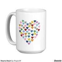 Hearts Heart Coffee Mugs