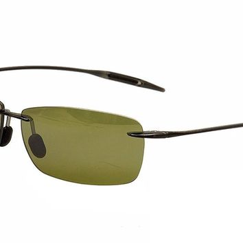 Maui Jim Mens Lighthouse Sunglasses (423) Plastic,Acetate